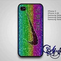 colorful spark Nike Just Do It-samsung galaxy s3,samsung galaxy s4,iphone 4/4s,iphone 5/5s,case,phone,persolalized iphone,cellphone-1110-9A