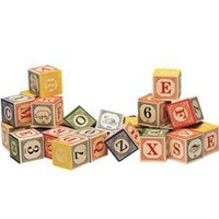 Uncle Goose Classic ABC Blocks - Made in USA