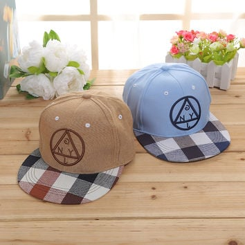 Hip-hop Hot Sale Korean Strong Character Outdoors Couple Hats [9730957379]