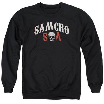 ac spbest Sons Of Anarchy - Samcro Forever Adult Crewneck Sweatshirt