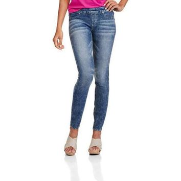 L.E.I. Juniors French Terry Pull On Legging - Walmart.com