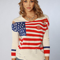 The Flag Religion Sweater