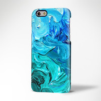 Blue Art Watercolor Painting iPhone 6 Case,iPhone 6 Plus Case,iPhone 5s Case,iPhone 5C Case,4/4s,Samsung Galaxy S6 Edge/S6/S5/S4/S3/Note 2/3