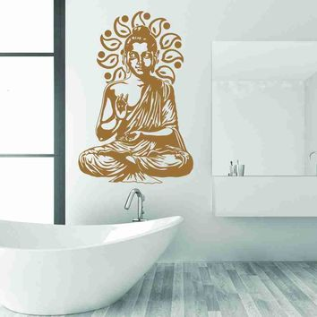 Buddha Meditating Wall Decal