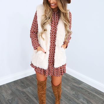 Feel The Fur Vest: Vanilla