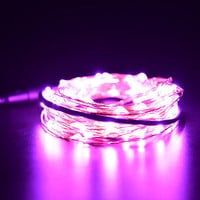 1 2 3 5 10M LED Silver Copper Cable Wire Fairy Light String Lamp Colors LS