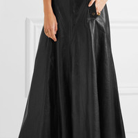 Chloé - Leather maxi skirt