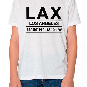 LAX Airport Shirt Kids