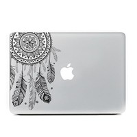 "Black Dreamcatcher MacBook Skin Decal Sticker for Apple Macbook Pro Air Mac 13"" inch Laptop 13 Inch"