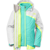 The North Face Girls' Jackets & Vests GIRLS' MOUNTAIN VIEW TRICLIMATE® JACKET