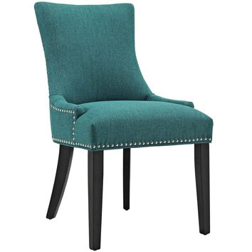 Marquis Fabric Dining Chair Teal EEI-2229-TEA