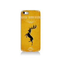 Game of Thrones House of Baratheon iPhone case, iPhone 6 case, iPhone 4 case iPhone 4s case, iPhone 5 case 5s case and 5c case