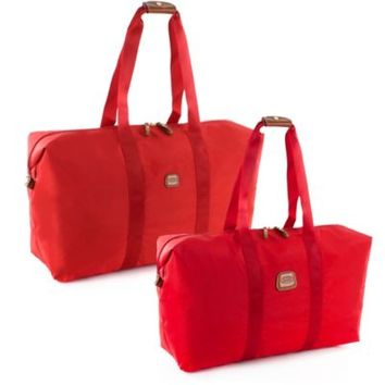 Bric's X-Bag Folding Duffle in Red