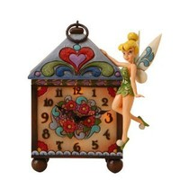 Disney Traditions designed by Jim Shore for Enesco Tinker Bell Clock 9 IN