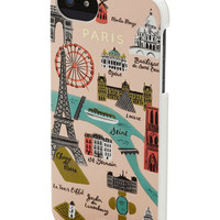 Rifle Paper Co French Streets of Paris iPhone 5, 5S Case