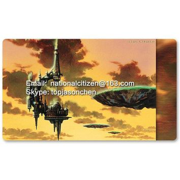 ONETOW Many Playmat Choices -Serra'S Sanctum- MTG Board Game Mat Table Mat for Magical Mouse Mat the Gathering 60 x 35CM