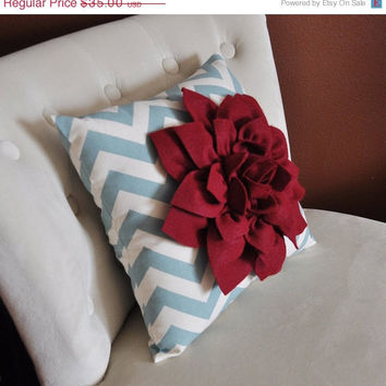 MOTHERS DAY SALE Pillows, Red Pillow, Decorative Throw Pillows,Throw Pillow, Blue Pillows, Decorative Pillows, Cushions, Autumn Decor, Flowe
