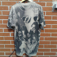 90s - The Doors - All Over Print - Band TShirt - Large