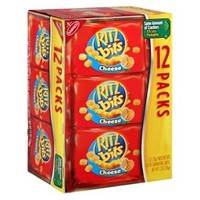 Nabisco Ritz Bits Cheese Cracker Sandwiches 12 pk