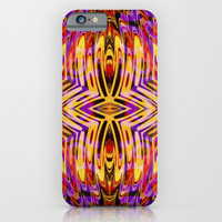 Funkydelic - Purple Yellow Red Geometric iPhone & iPod Case by Webgrrl
