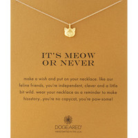 Gold-Dipped Its Meow or Never Necklace