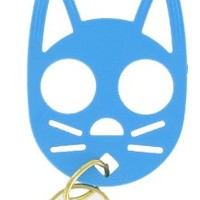 The Cat Personal Safety Keychain -Light Blue