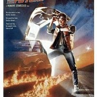 Back to the Future Movie (Michael Looking at Watch) Poster Print