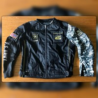 US ARMY Tactical Gear Motorcycle Riding Jacket, NEW, Size XL