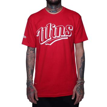Wins Short Sleeve T Shirt Red