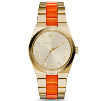 Michael Kors Gold-Tone Channing Watch 38mm MK6153