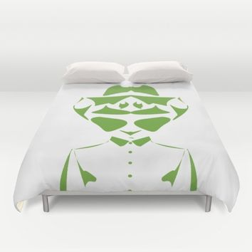Optical Illusion - double face Duvet Cover by Xiari