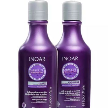 Inoar  Absolut Speed Blond Home Care Kit 250ml/ 8.45fl.oz