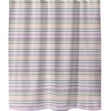 VILLAGE Shower Curtain By Tiffany Wong