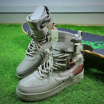 NOV9O2 Nike Special Forces Air Force 1 SF AF1 Boots Camo Shoes Women Sneaker