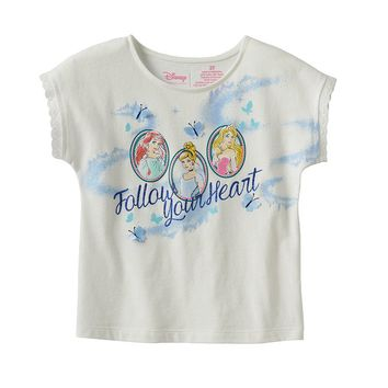 Disney Princess ''Follow Your Heart'' Tee by Jumping Beans - Toddler Girl, Size: