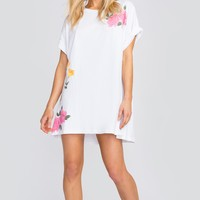 Meadow Flowers Party Doll T-Shirt Dress