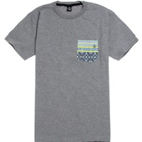 Volcom Rampart Pocket T-Shirt - Mens Tee - Grey