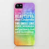 Sunshine Face iPhone Case by Rachel Caldwell | Society6