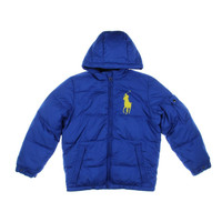 Polo Ralph Lauren Boys Fleece Lined Long Sleeves Coat