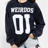 Urban Outfitters - LIFE Weirdo Pullover Sweatshirt