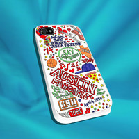 Austin Mahone Love Art For iPhone 4/4s,5/5s/5c, Samsung S3,S4,S2, iPod 4,5, HTC ONE