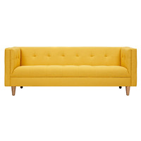 Kaja Sofa Papaya Yellow