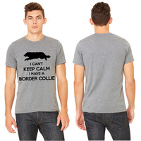 Can't Keep Calm Border Collie T-shirt