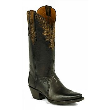 Black Jack Ranch Hand Chocolate Shadow Boot