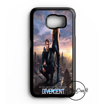 Divergent  Mortal Instrument  And Hunger Game Samsung Galaxy S6 Edge Plus Case