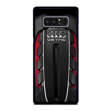 ENGINE AUDI V8 TFSI Samsung Galaxy Note 8 Case Cover