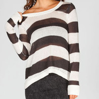 Billabong Hideaway Luv Womens Sweater Black/White  In Sizes
