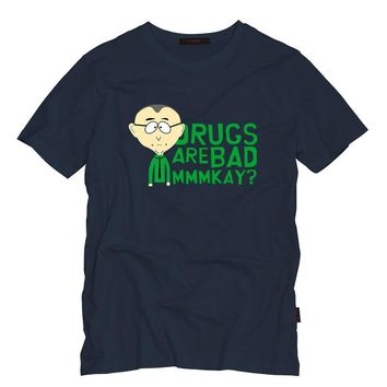 "South Park - Mr. Mackey - ""MMMKAY Drugs Are Bad"" TShirt"