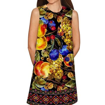 Summer Night Adele Baroque Print Shift Mini Dress - Women