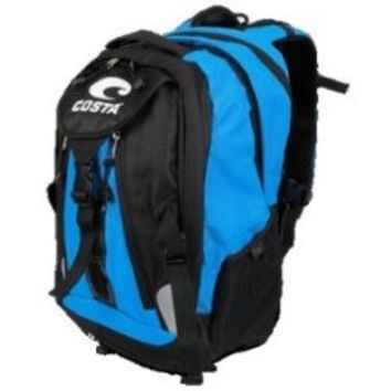 Costa Del Mar Backpack Black/Blue One Size